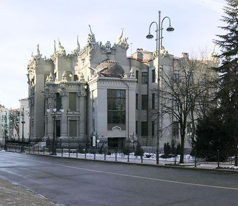 Дом с химерами в Киеве архитектора Владислава Городецкого