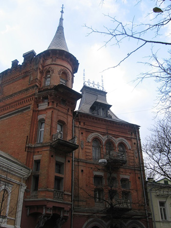 Замок барона Штейнгеля (дом помещика М. Подгорского)