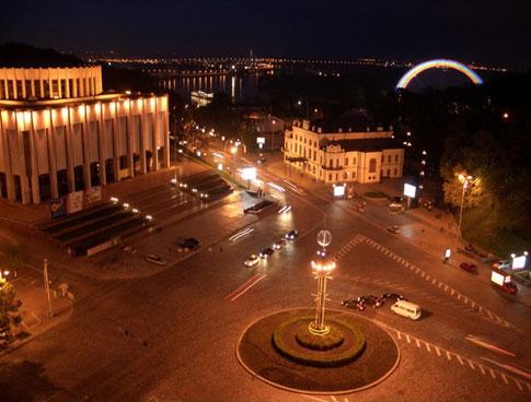 Европейская площадь. Фото.