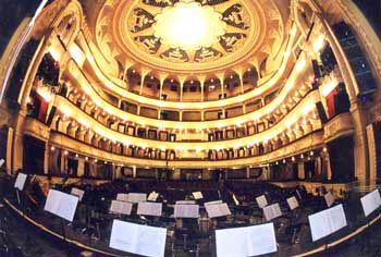 Зрительный зал. Театр оперы и балета украины