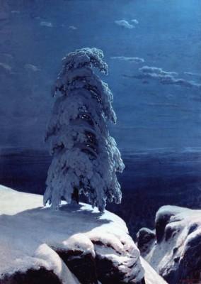 И.И. Шишкин (1832-1898). На севере диком. 1891