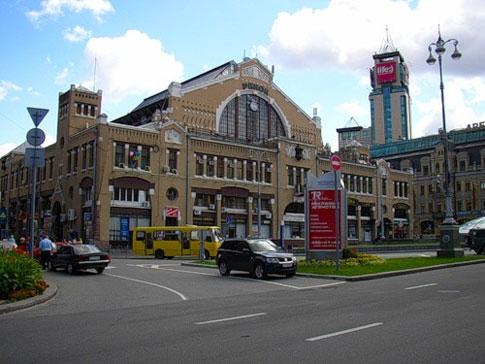Бессарабский рынок в Киеве. бессарабка
